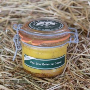 Foie gras de canard conserve
