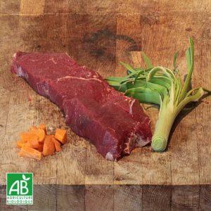 Rumsteak de bœuf bio