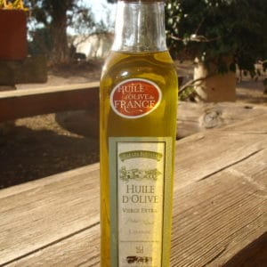 Huile d'Olive Vierge Extra à la LAVANDE 25 cl