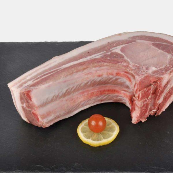 Rôti côte de porc