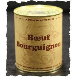 Boeuf Bourguignon Cuisiné 4 Pers. (850g)