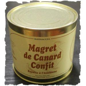 Confit de Canard – Magret confit 500 grs