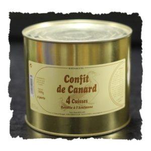 Confit de Canard – 4 Cuisses