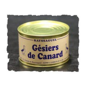 Confit de Canard – 5 Gésiers de canard