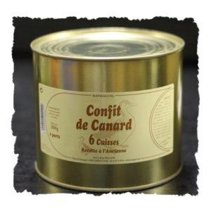 Confit de Canard – 6 Cuisses