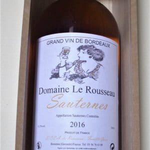 Domaine Le Rousseau. SAUTERNES. 2016. Double Magnum