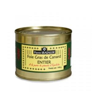 Foie Gras à la purée de Piment d'Espelette 190G