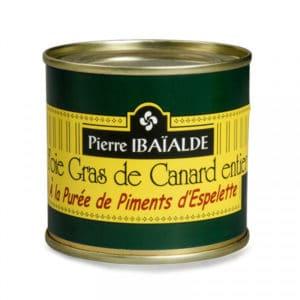Foie Gras à la purée de Piment d'Espelette 270G