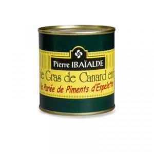 Foie Gras à la purée de Piment d'Espelette 90G