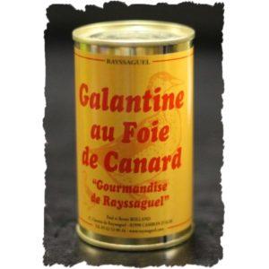 Galantine au foie de canard (Gourmandise de Rayssaguel)