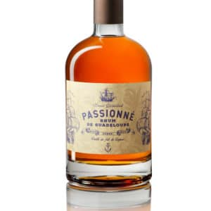 PASSIONNE, Rhum de Guadeloupe vieilli en fût de cognacs