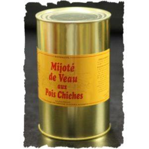 Mijoté de veau aux pois chiches (1250g)