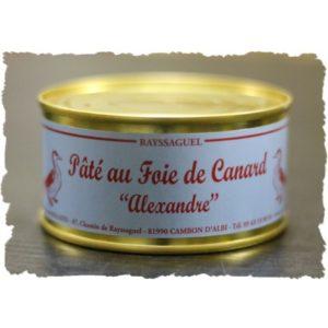 Pâté au foie de canard (Alexandre)