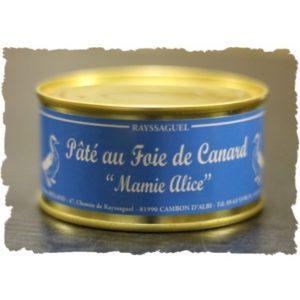 Pâté au foie de canard (Mamie Alice)
