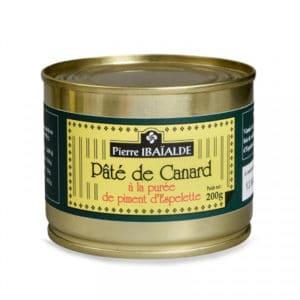 Pâté de Canard à la purée de Piment d'Espelette 200G