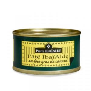 Pâté IBAÏALDE au Foie Gras boite 125 g