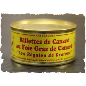 Rillettes de Canard au foie de canard (Regalou)