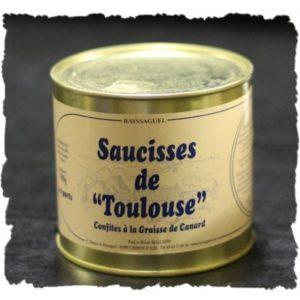 Saucisse Toulouse Confite