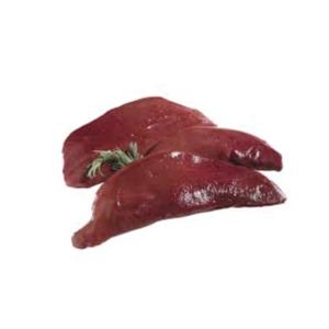 Foie de porc frais