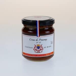 Crème de pruneaux chocolat noir aux 5 poivres aromatiques
