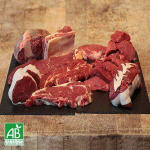 Mix saucisses viande a griller de boeuf bio